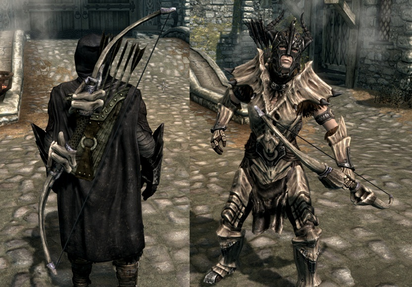 how to make bone armor forest